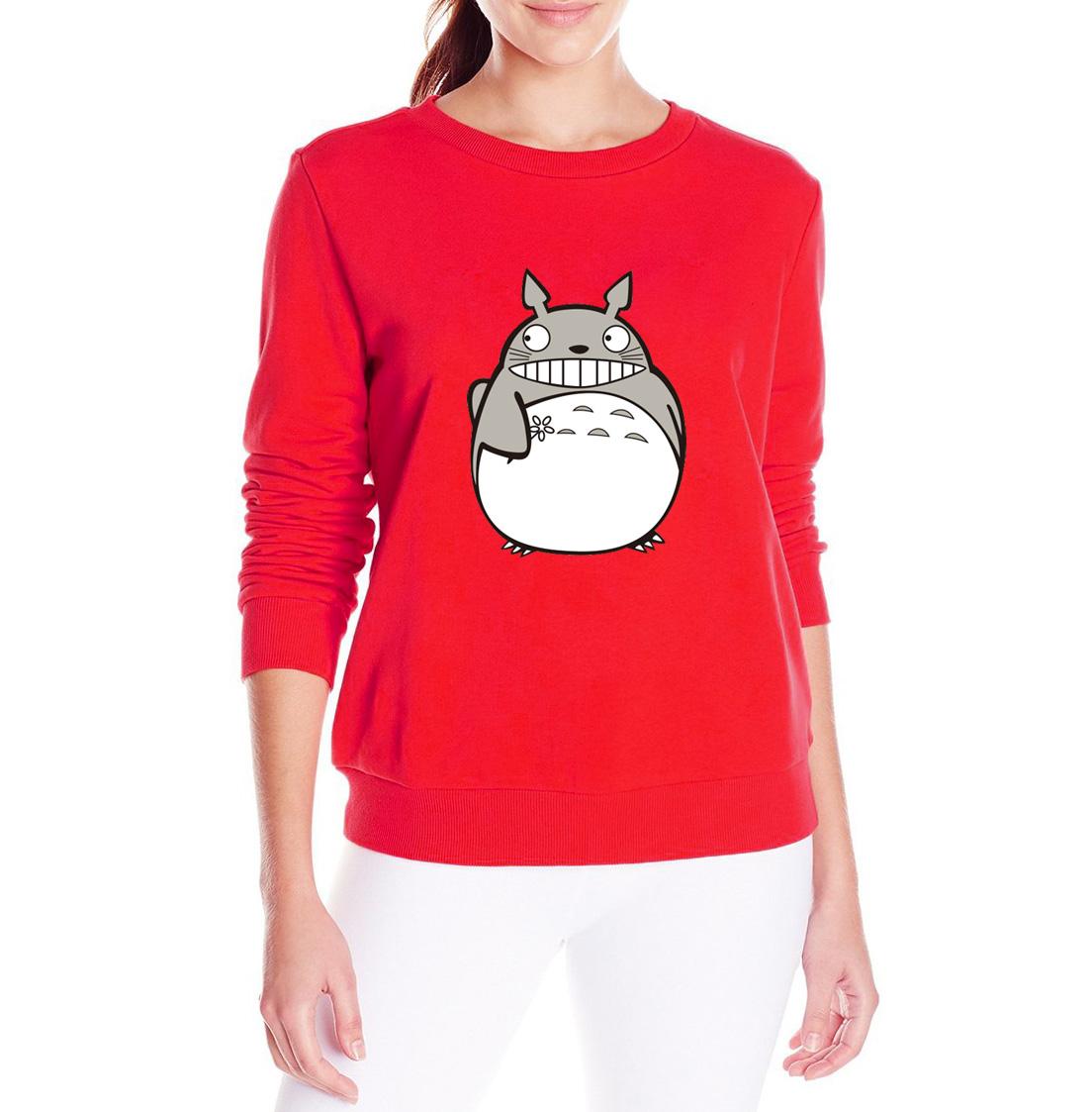 Sudadera Totoro Roja