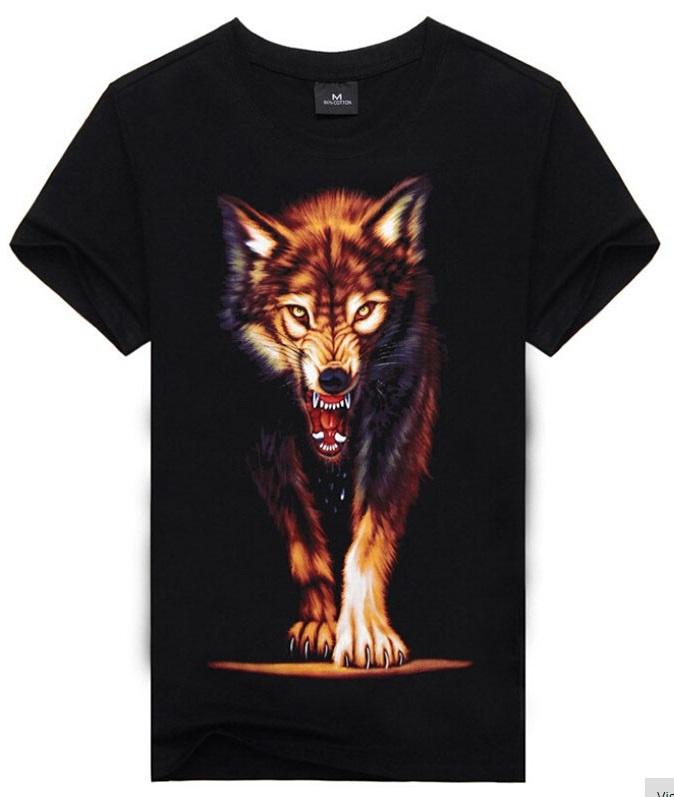 Camiseta Lobo