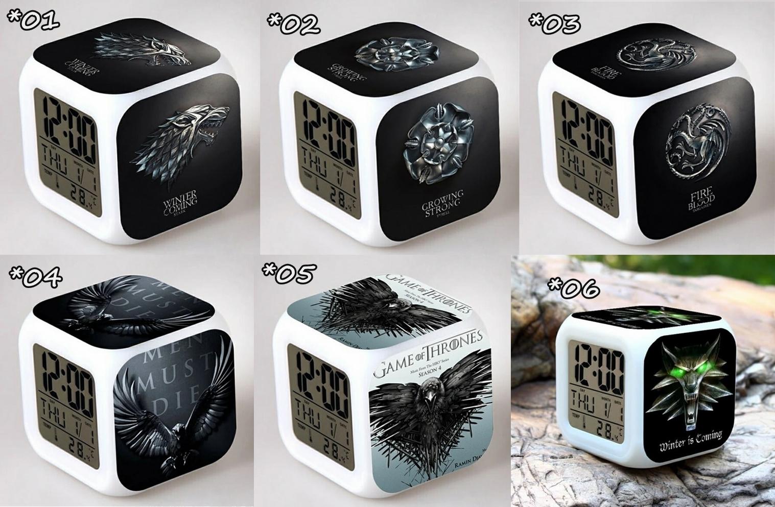 Relojes digitales Juego Tronos *02