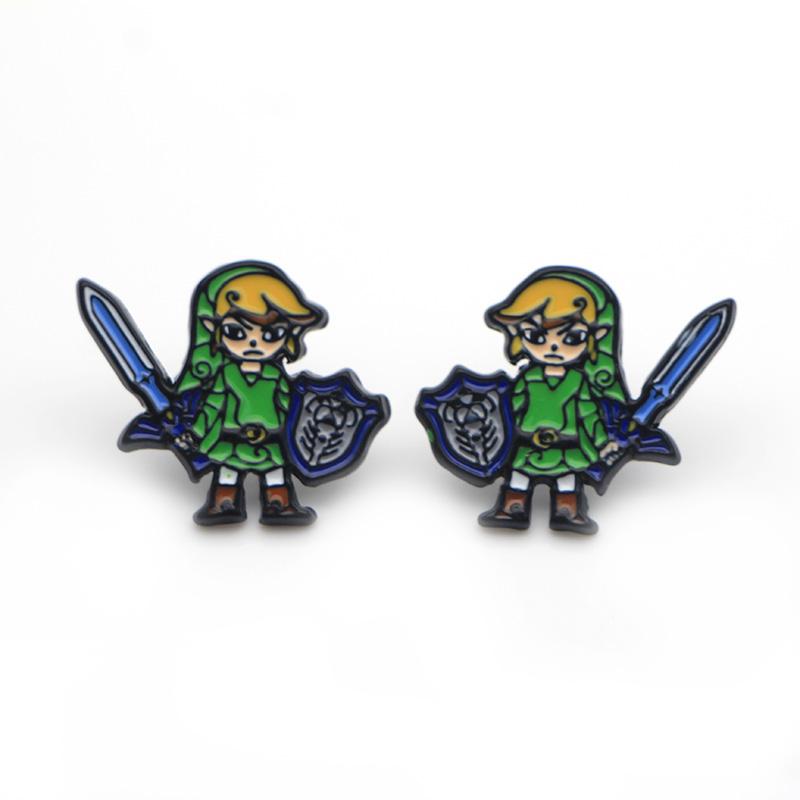 Pendientes Zelda 1