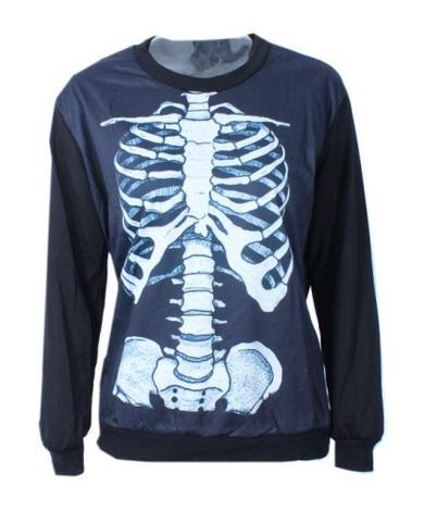 Sudadera esqueleto.