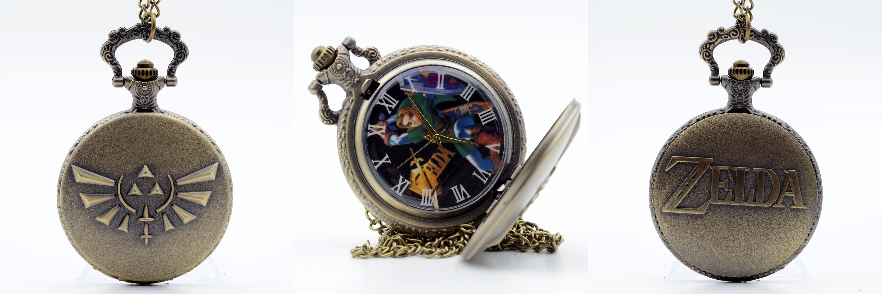 Reloj de Bolsillo Zelda