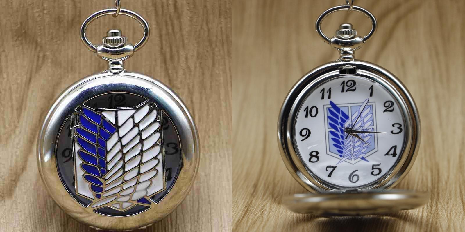 Reloj de Bolsillo Titan Plata