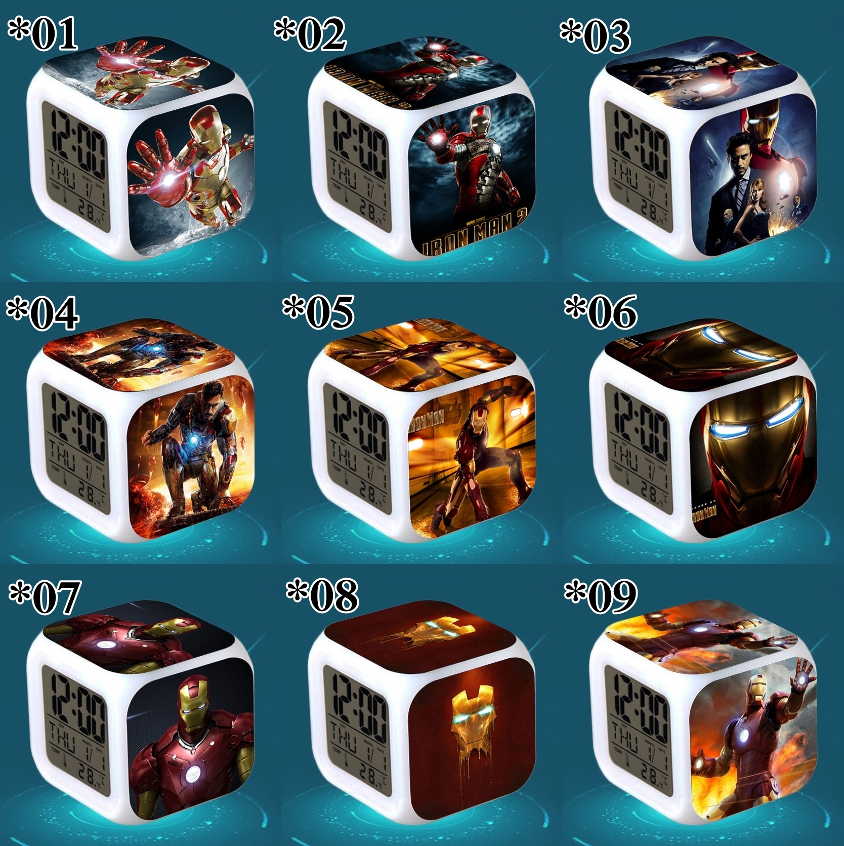 Relojes digitales Iron Man *02