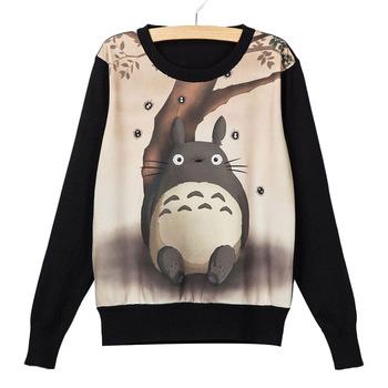 Sudadera Totoro Marrón