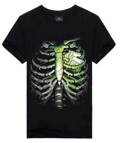Camiseta Corazón y dinero