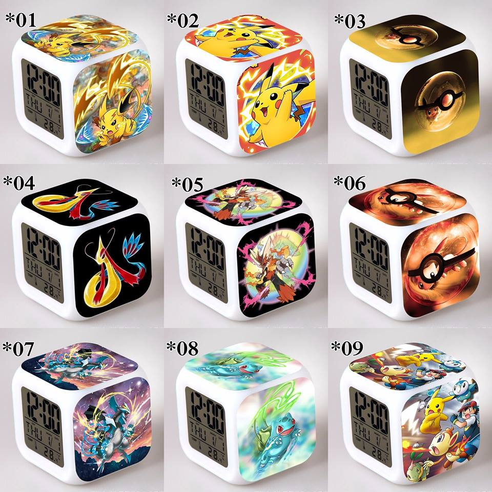 Relojes digitales Pokemon *01
