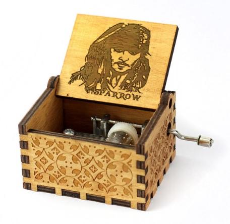 Cajita Musical Jack Sparrow.