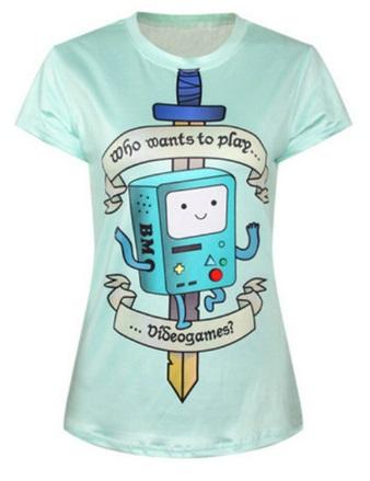 Camiseta manga corta Hora de aventuras*09