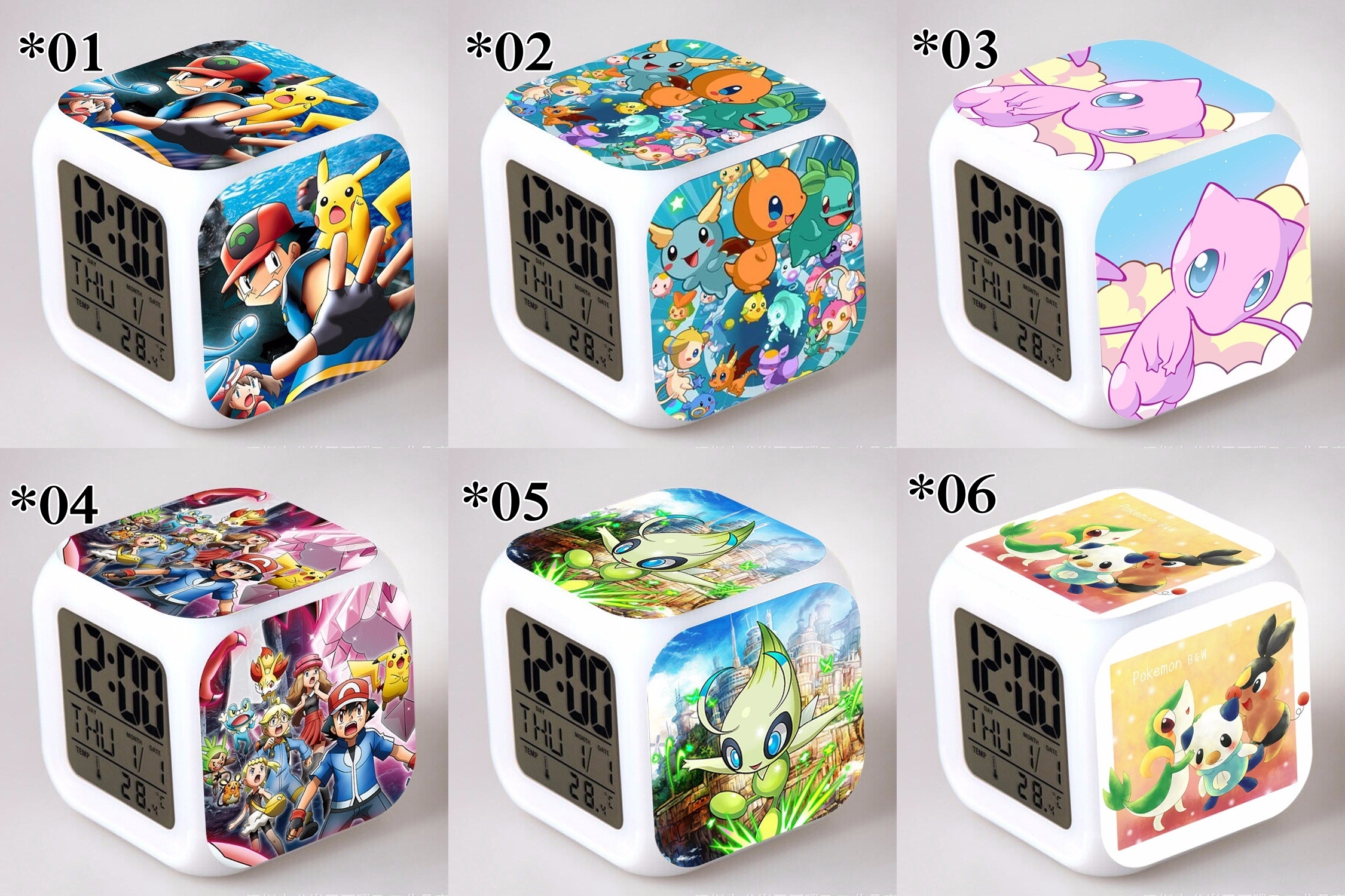 Relojes digitales Pokemon *02