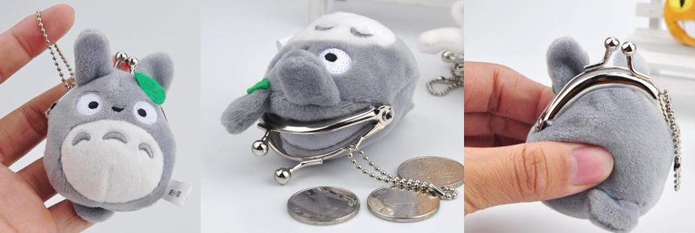 Monedero Peluche Totoro