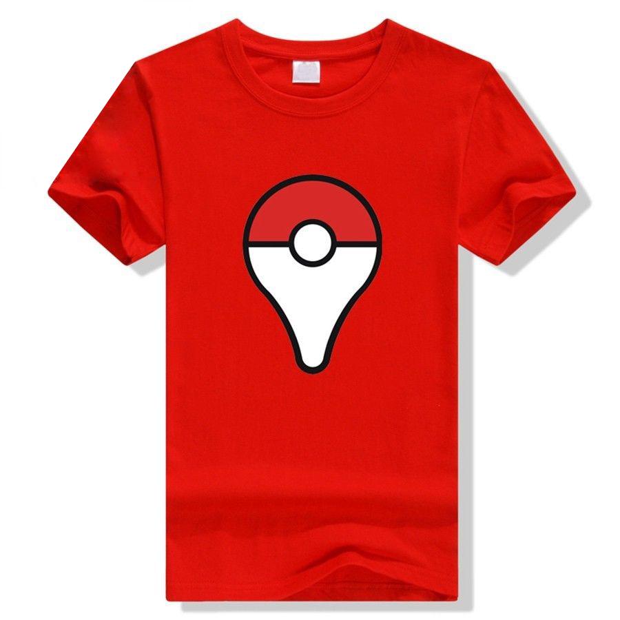Camiseta Pokeball Roja
