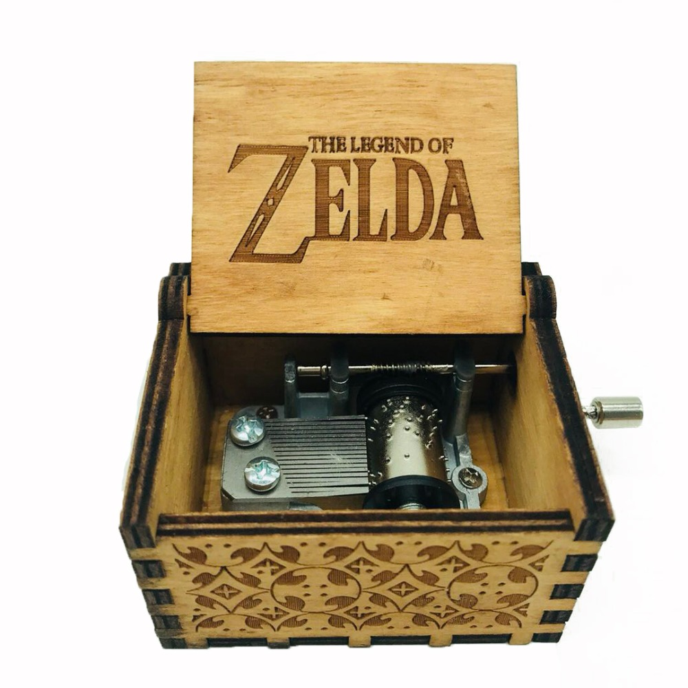Cajita Musical Zelda