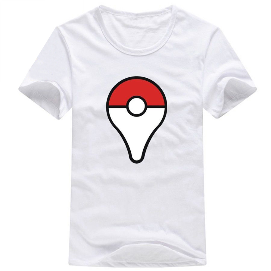Camiseta Pokeball Blanca