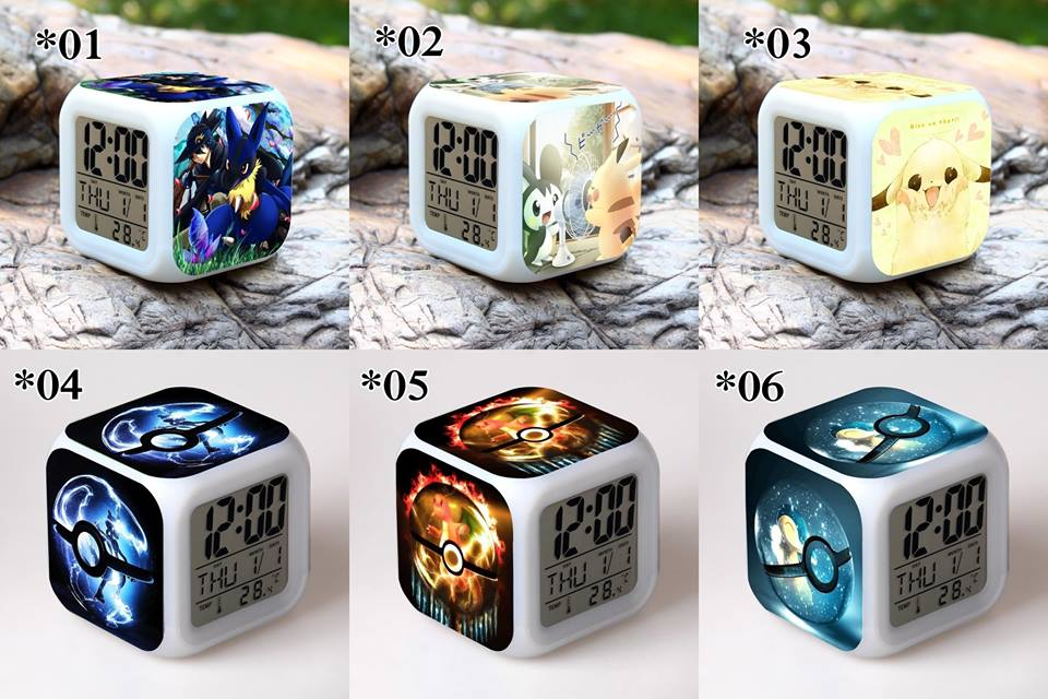 Relojes digitales Pokemon *04