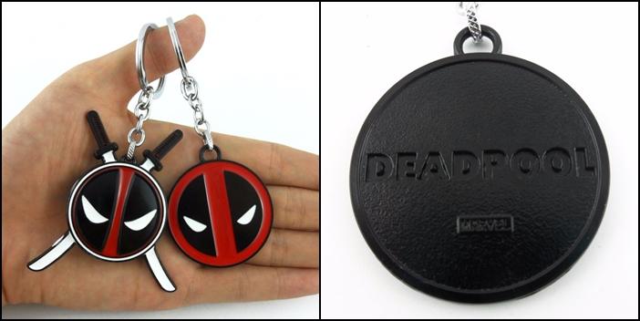 Llaveros Deadpool.
