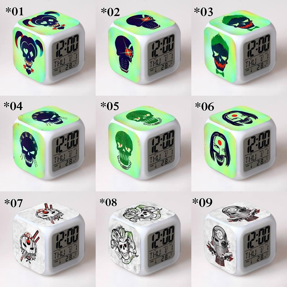 Relojes digitales Escuadrón Suicida *02