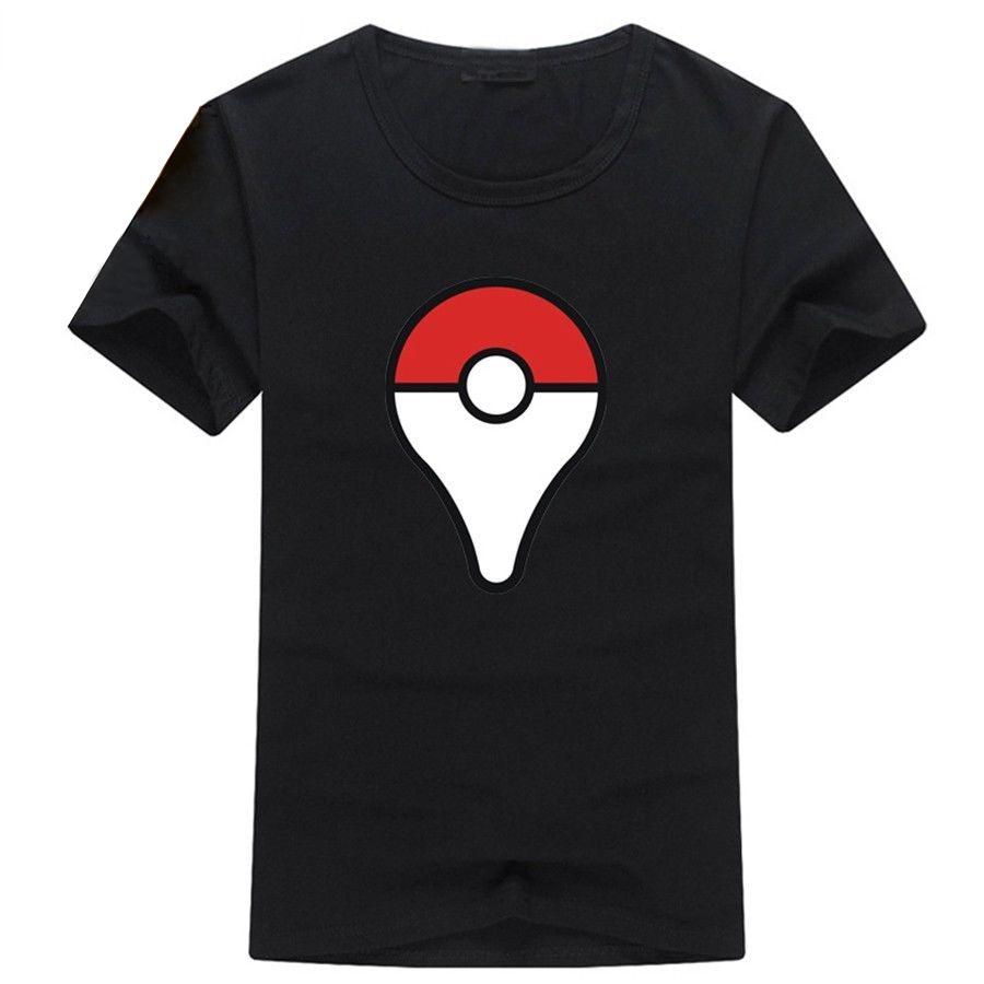 Camiseta Pokeball Negra