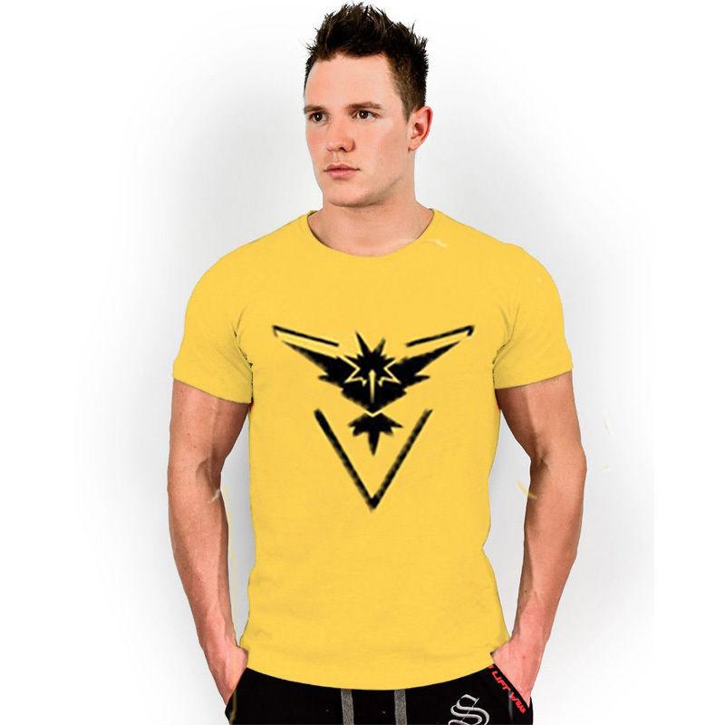Camiseta Equipo Instinto Amarilla