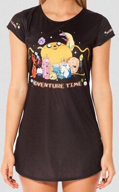 Camiseta larga manga corta Hora de aventuras*01