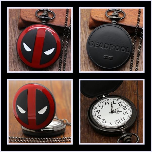 Reloj De Bolsillo de Deadpool.