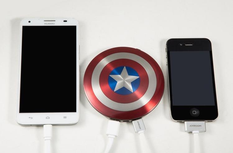 Power Bank Capitán América.