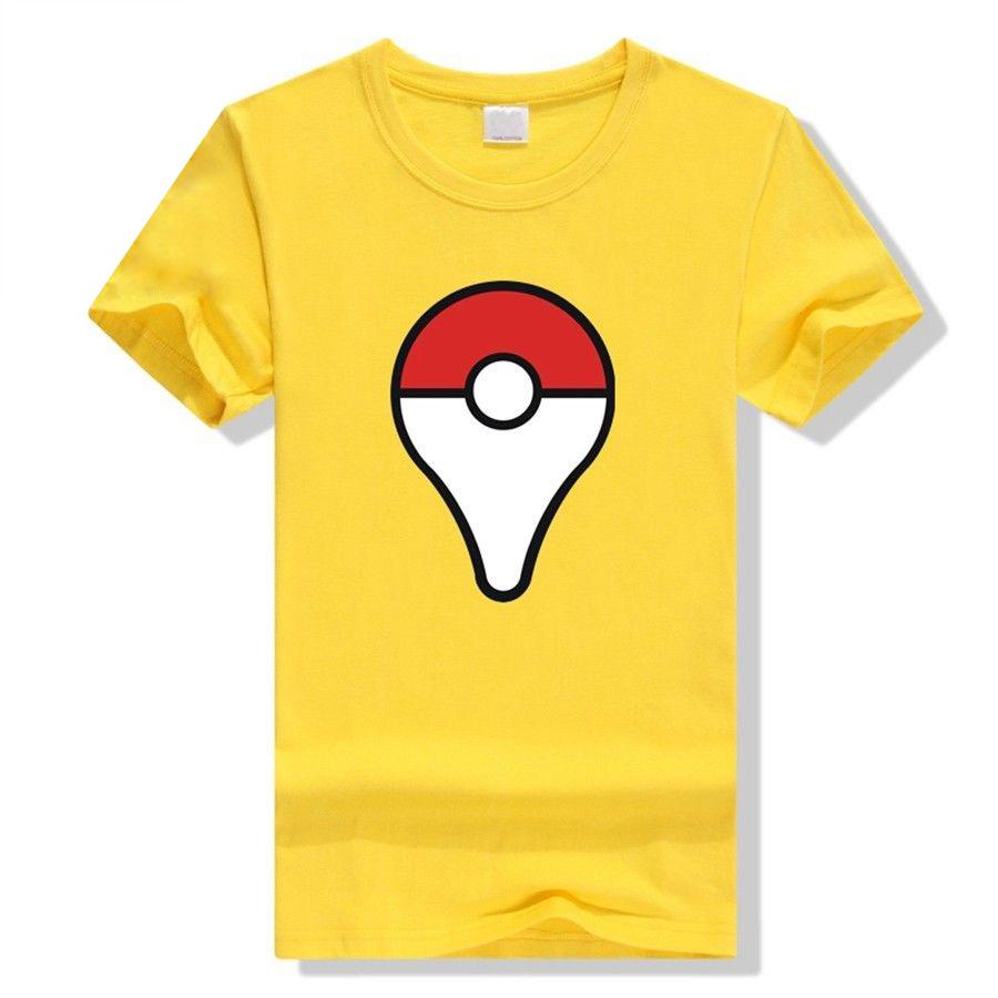 Camiseta Pokeball Amarilla