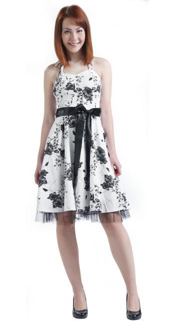 Vestido Floral Long Dress