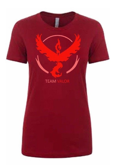 Camiseta manga corta Equipo Valor Roja