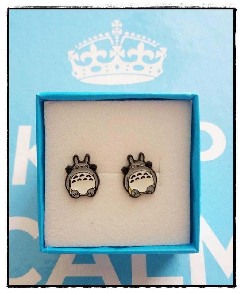 Pendientes Totoro *02