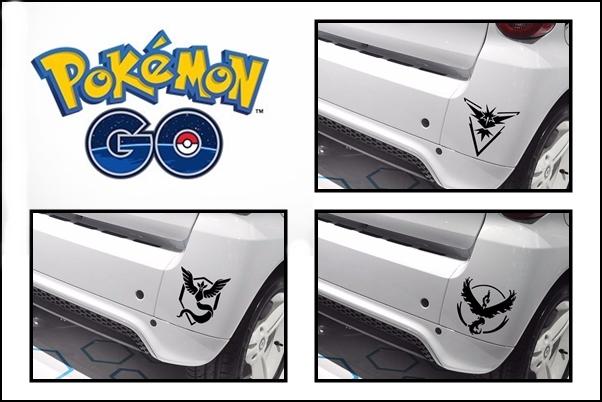 Vinilos Pokemon Go