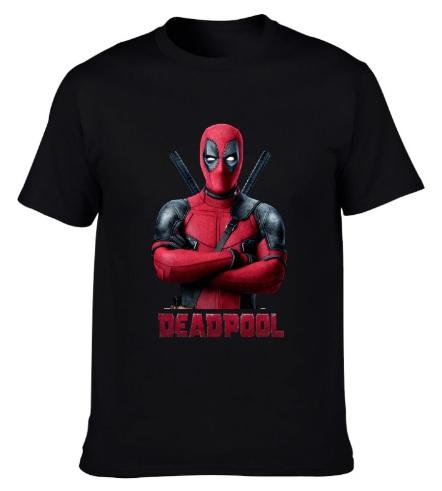 Camiseta Deadpool Negra