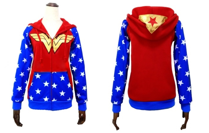 Sudadera Wonder Woman