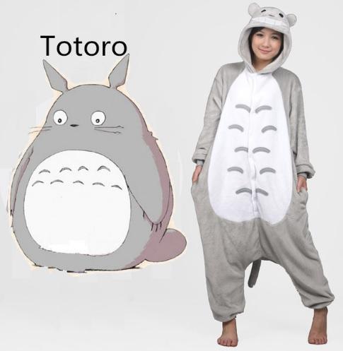 Pijama de Franela Completo Totoro
