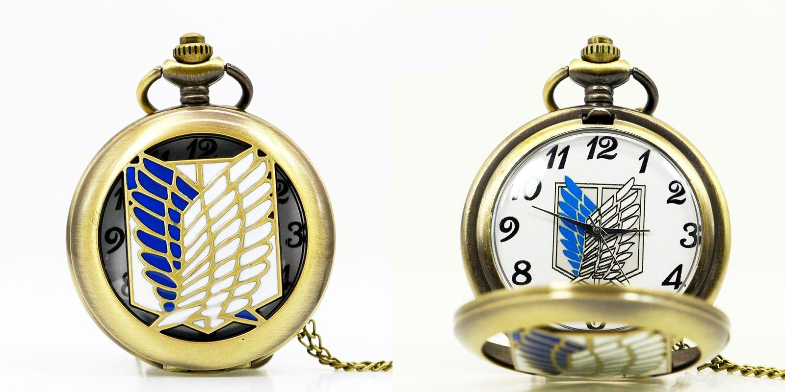 Reloj de Bolsillo Titan Bronce