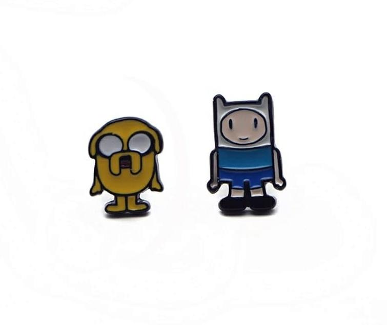 Pendientes Fin y Jake