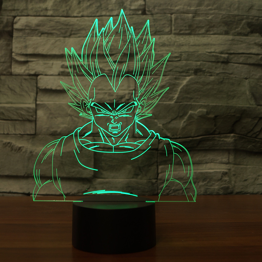 Lampara 3D Dragon Ball