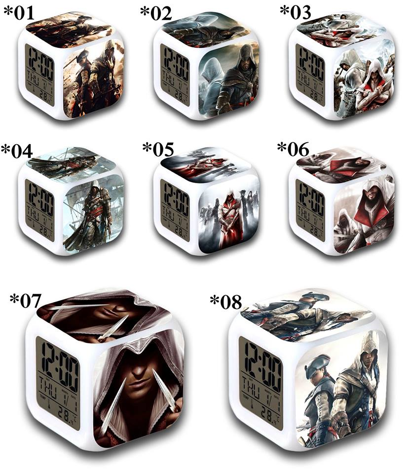 Relojes digitales Assassins Creed