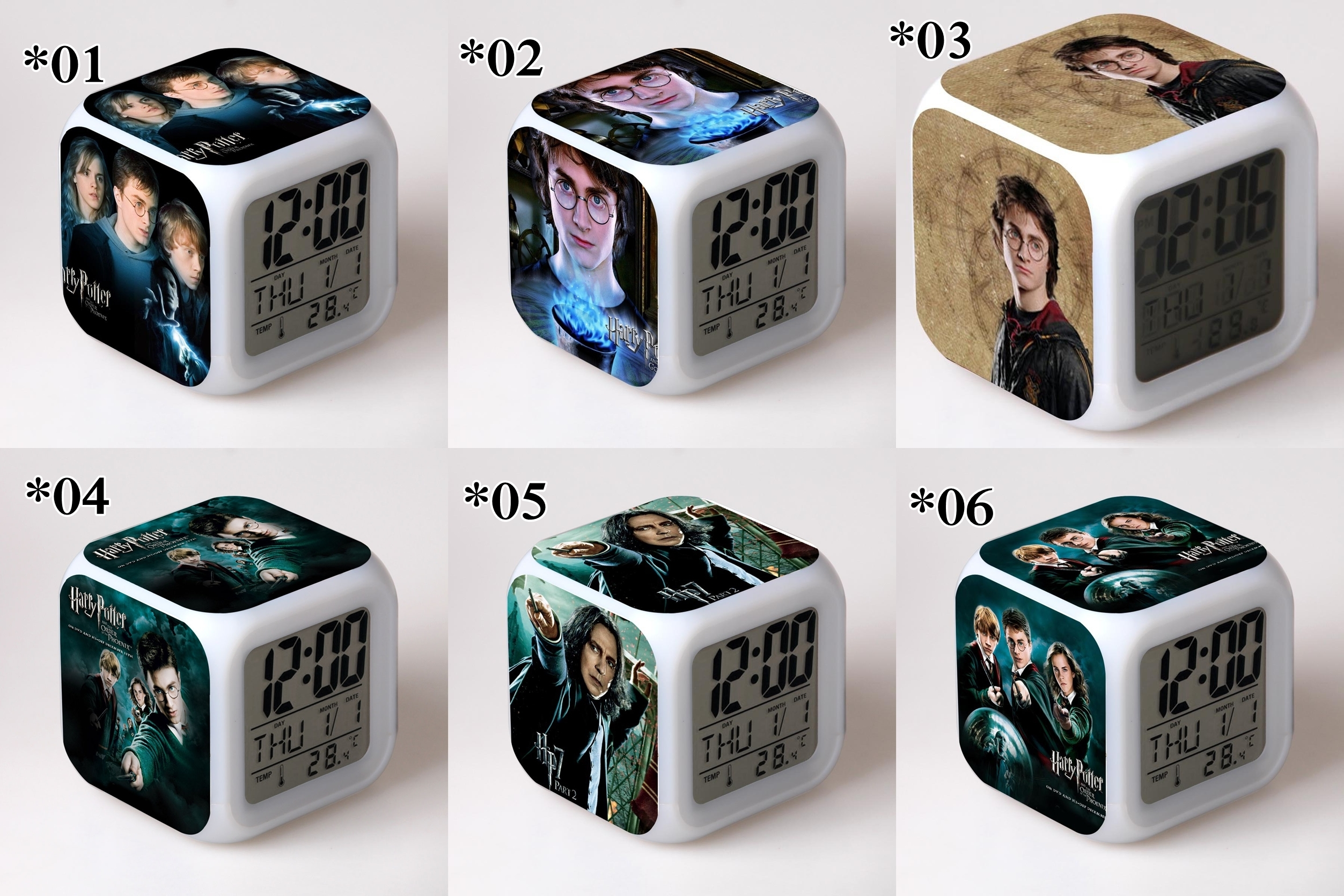 Relojes digitales Harry Potter