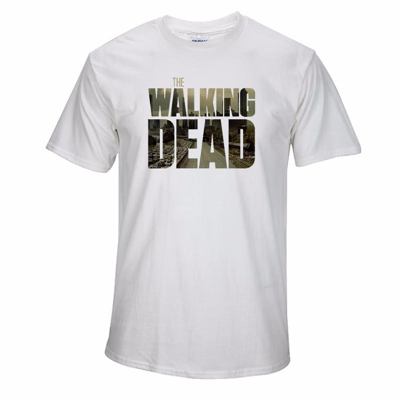 Camiseta The Walking Dead Blanca