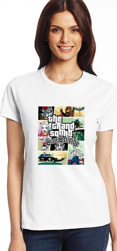 Camiseta Escuadrón Suicida 08M
