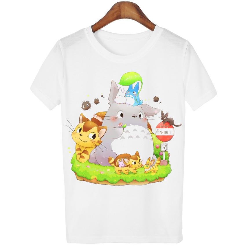 Camiseta Totoro Blanca *02