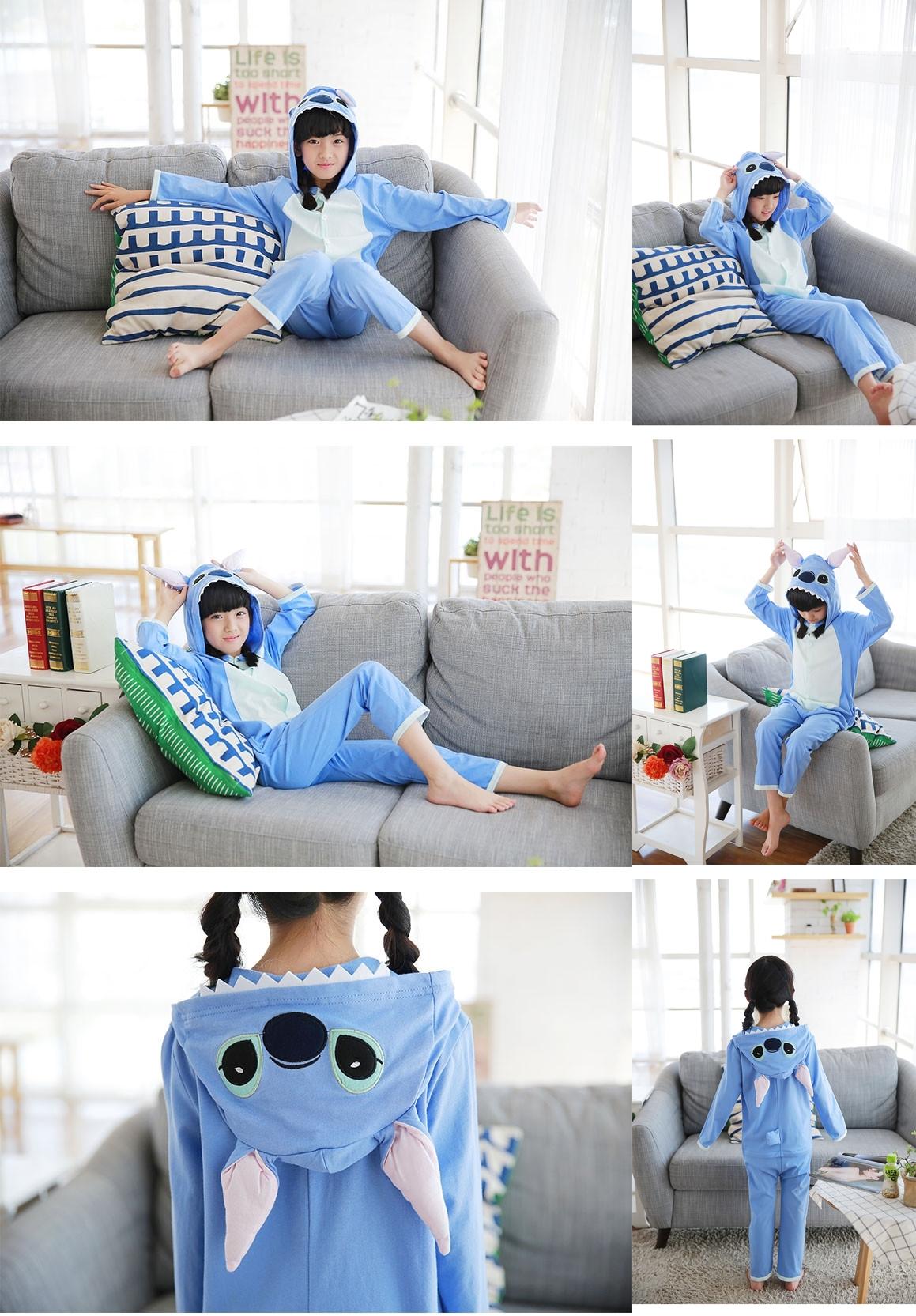 Pijama Completo de Stitch para niñas