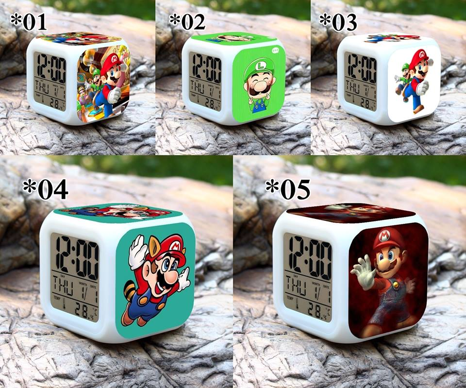 Relojes digitales Super Mario *02