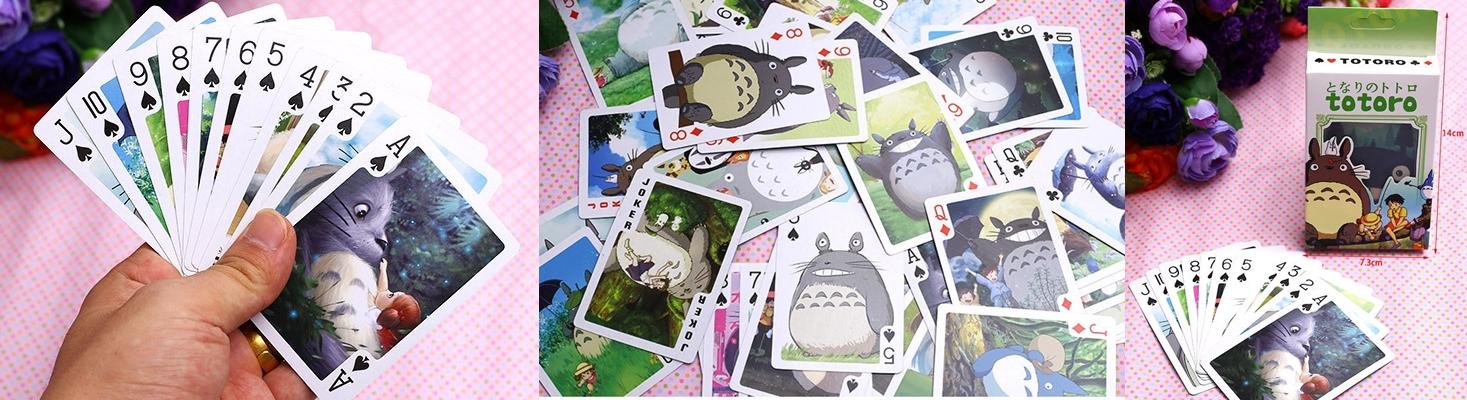 Cartas de Póquer de Totoro