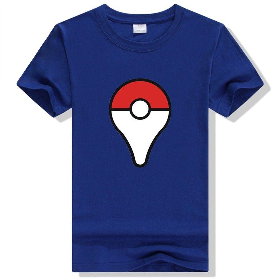 Camiseta Pokeball Azul