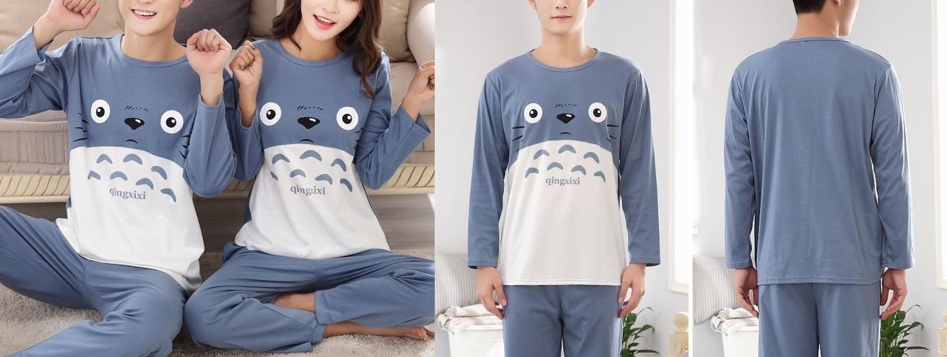 Pijama Totoro fino.