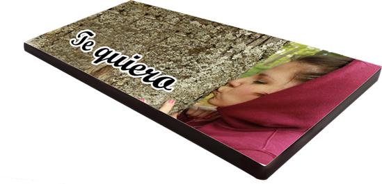 Tableta chocolate Personalizada