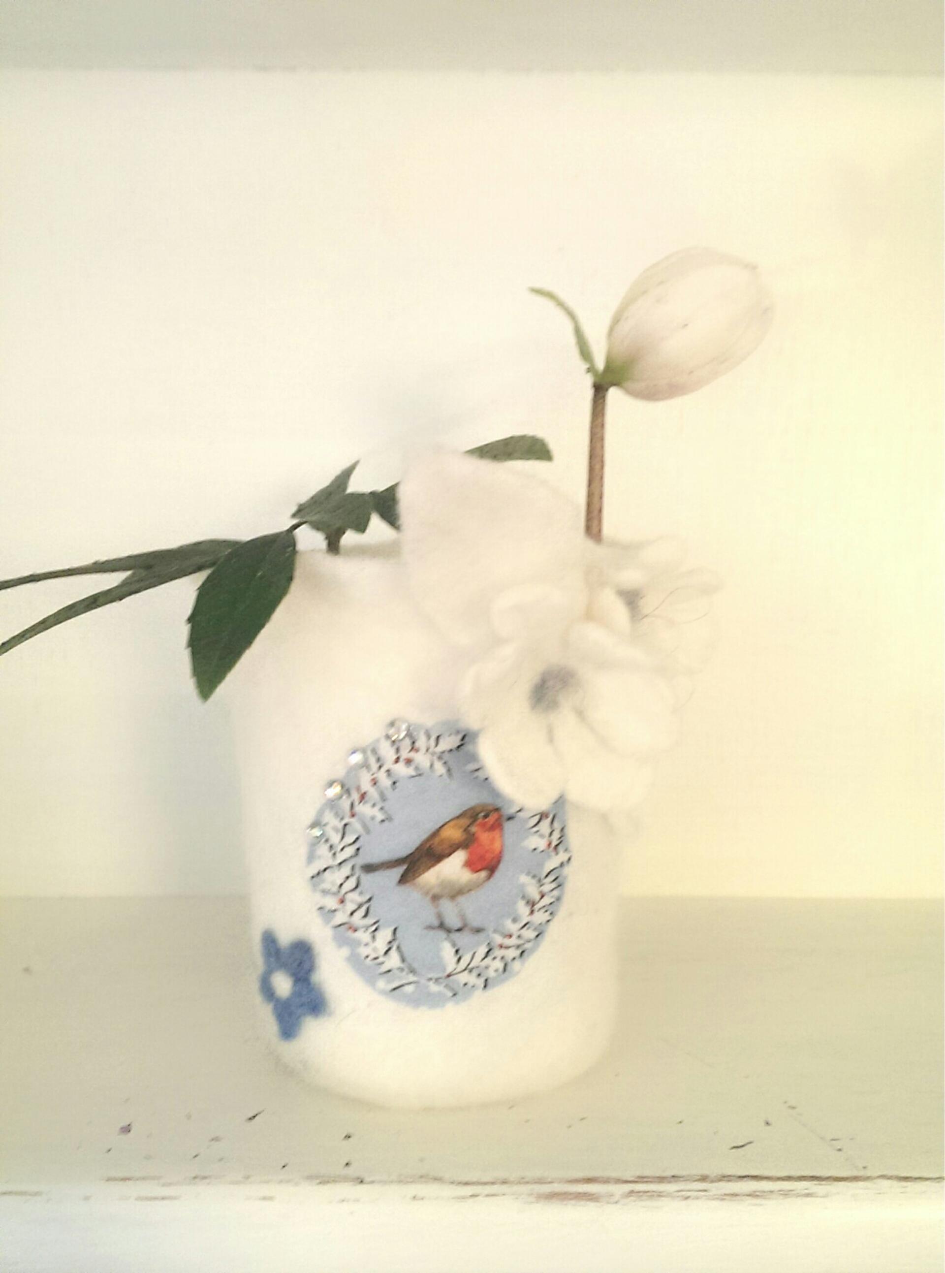 Winterbird - Teelicht