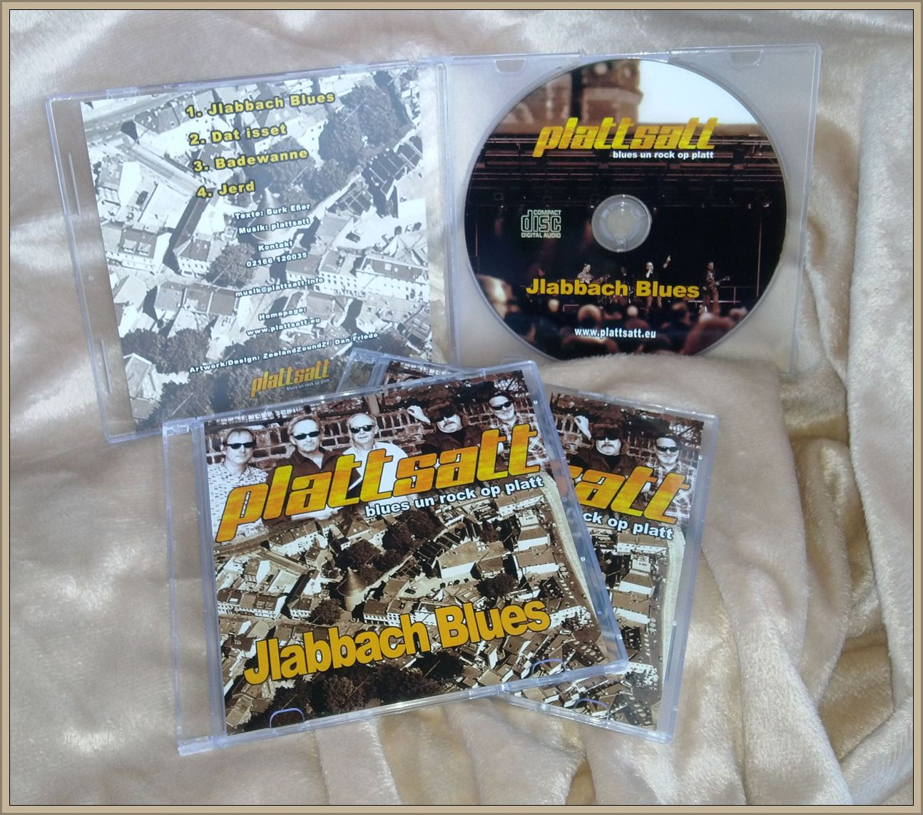 Plattsatt CD :  Jlabbach Blues